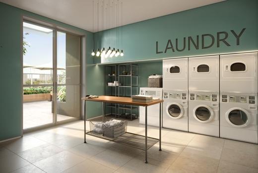 Lavanderia - Apartamento 1 quarto à venda Perdizes, São Paulo - R$ 653.603 - II-10318-19732 - 10