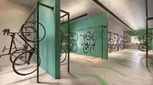 Bicicletario - Apartamento 1 quarto à venda Perdizes, São Paulo - R$ 653.603 - II-10318-19732 - 11