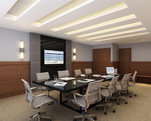 Sala de reuniao - Fachada - Rosário 1 - Office Center - 242 - 11
