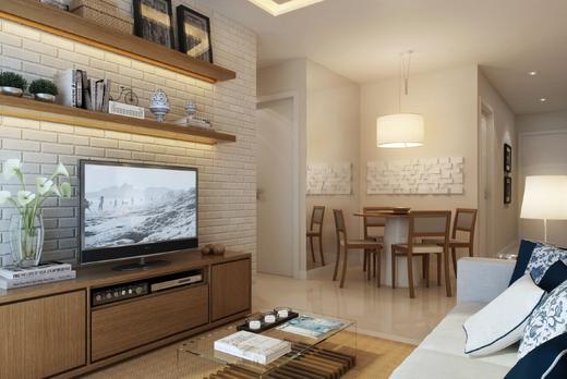 Living - Fachada - Mediterrâneo Residenza - 244 - 3