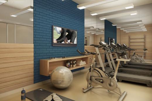 Fitness - Fachada - Mediterrâneo Residenza - 244 - 6