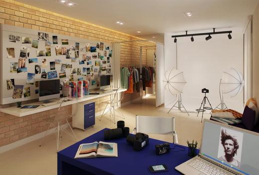 Exemplo sala - Sala Comercial 23m² à venda Centro, Niterói - R$ 99.200 - II-10709-20169 - 9