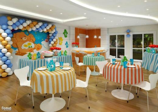 Salao de festas - Fachada - Nova Barra 2 Lumiére - 175 - 5