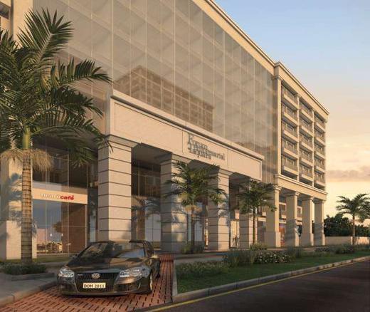 Portaria - Fachada - Fórum Empresarial da Taquara - 305 - 2