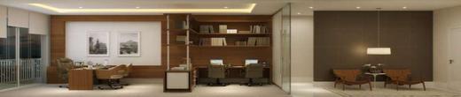 Exemplo sala - Fachada - Fórum Empresarial da Taquara - 305 - 6