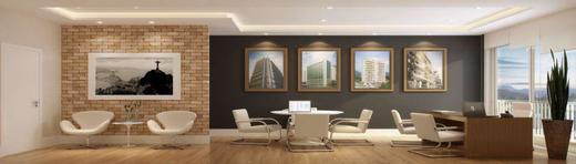 Exemplo sala - Fachada - Fórum Empresarial da Taquara - 305 - 7