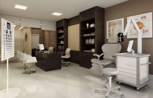Exemplo sala - Fachada - Fórum Empresarial da Taquara - 305 - 8