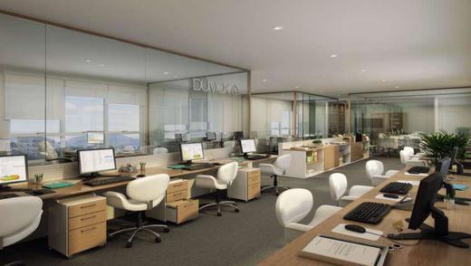 Exemplo sala - Fachada - Fórum Empresarial da Taquara - 305 - 9