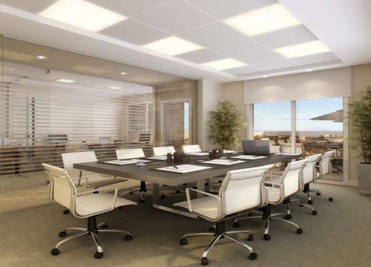 Exemplo sala - Fachada - Fórum Empresarial da Taquara - 305 - 11