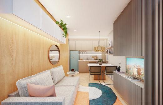 Living - Apartamento à venda Rua Silva Bueno,Ipiranga, São Paulo - R$ 346.891 - II-10801-20270 - 5