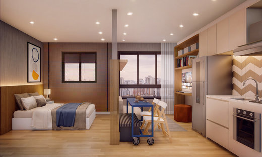 Living - Apartamento à venda Rua Silva Bueno,Ipiranga, São Paulo - R$ 346.891 - II-10801-20270 - 6