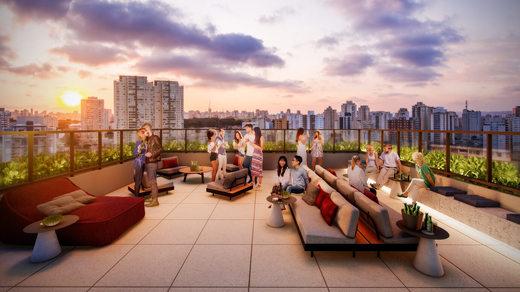 Terraco - Apartamento à venda Rua Silva Bueno,Ipiranga, São Paulo - R$ 346.891 - II-10801-20270 - 19