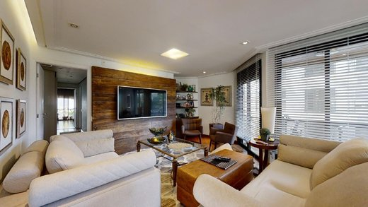 Living - Apartamento à venda Rua Luminárias,Vila Madalena, Zona Oeste,São Paulo - R$ 1.850.000 - II-10945-20426 - 19
