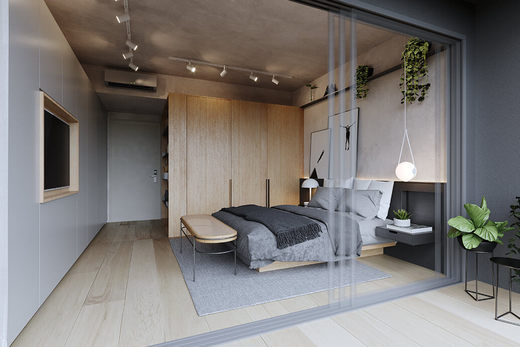 Dormitorio - Fachada - Arvo Rebouças - Breve Lançamento - 231 - 5