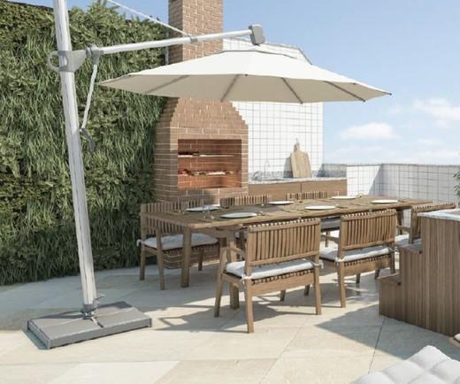 Terraco cobertura - Fachada - Exclusive Residence - 250 - 11