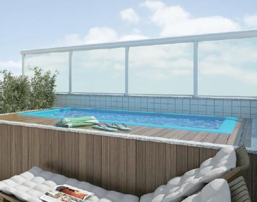 Terraco cobertura - Fachada - Exclusive Residence - 1490 - 12