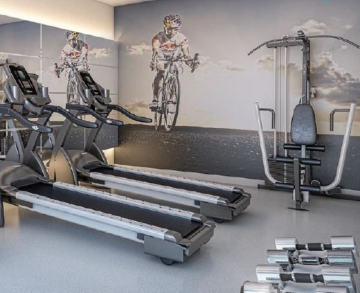 Fitness - Fachada - Exclusive Residence - 250 - 14
