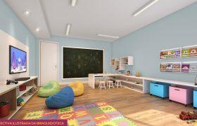 Espaco kids - Fachada - Pátio Central - Cores - 742 - 21
