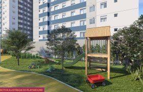 Playground - Fachada - Pátio Central - Cores - 742 - 27