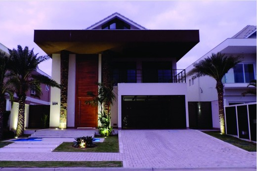 Fachada - Fachada - Casa 1 Condomínio Alphaville - 153 - 2