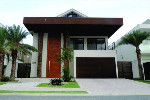 Fachada - Fachada - Casa 1 Condomínio Alphaville - 153 - 1