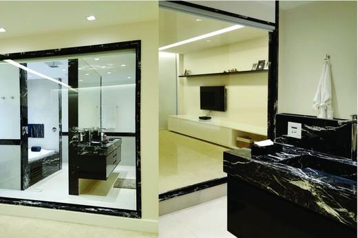 Banheiro - Fachada - Casa 1 Condomínio Alphaville - 153 - 14