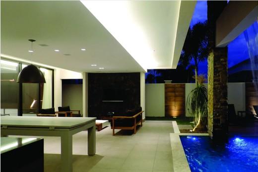 Lounge - Fachada - Casa 1 Condomínio Alphaville - 153 - 18