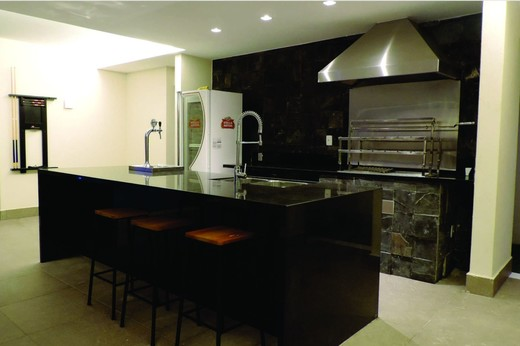 Churrasqueira - Fachada - Casa 1 Condomínio Alphaville - 153 - 20