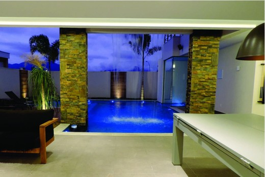 Lounge - Fachada - Casa 1 Condomínio Alphaville - 153 - 19