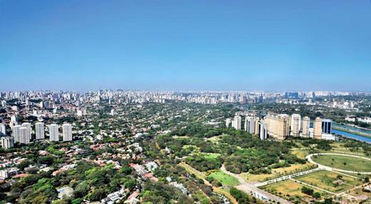 Vista aerea - Fachada - Reserva Alto de Pinheiros Apto 21 Aroeira - 234 - 7