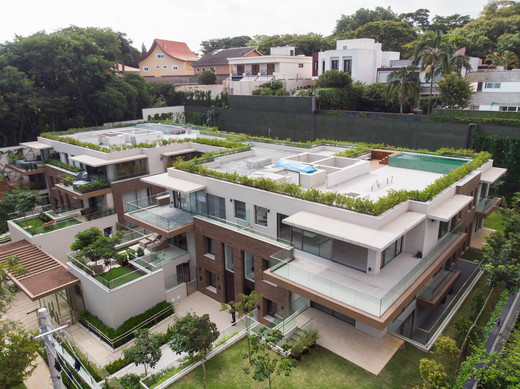 Vista aerea - Fachada - Bothanica Thownhouses Apto Macela - 752 - 25