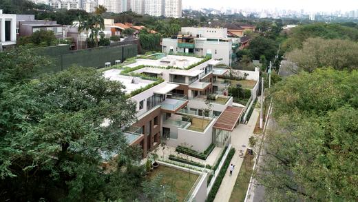 Vista aerea - Fachada - Bothanica Thownhouses Apto Macela - 752 - 24