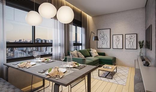 Living - Apartamento à venda Largo do Arouche,República, São Paulo - R$ 411.713 - II-11278-20843 - 5