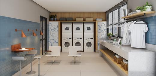 Lavanderia - Apartamento à venda Largo do Arouche,República, São Paulo - R$ 411.713 - II-11278-20843 - 9