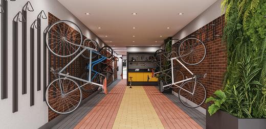 Bicicletario - Apartamento à venda Largo do Arouche,República, São Paulo - R$ 411.713 - II-11278-20843 - 11