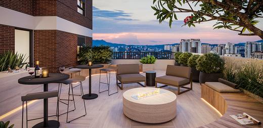 Lounge externo - Apartamento à venda Largo do Arouche,República, São Paulo - R$ 411.713 - II-11278-20843 - 15
