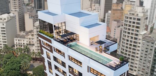 Aerea - Apartamento à venda Largo do Arouche,República, São Paulo - R$ 411.713 - II-11278-20843 - 17