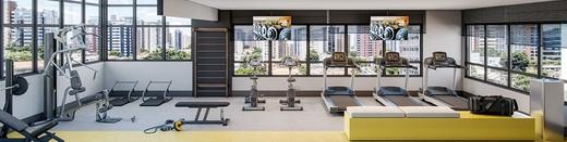 Fitness - Apartamento à venda Largo do Arouche,República, São Paulo - R$ 411.713 - II-11278-20843 - 6