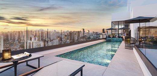 Piscina - Apartamento à venda Largo do Arouche,República, São Paulo - R$ 411.713 - II-11278-20843 - 16