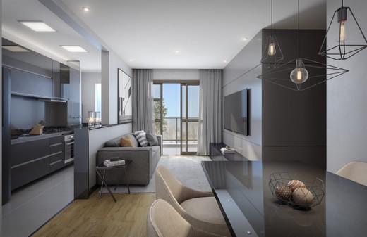 Living - Apartamento 2 quartos à venda Tijuca, Rio de Janeiro - R$ 655.345 - II-11280-20845 - 5