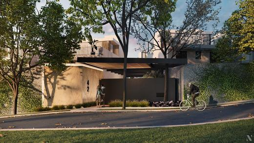 Portaria - Fachada - Casa Jardim - 755 - 2