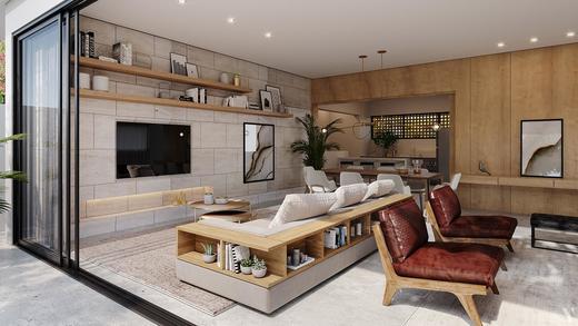 Living - Fachada - Casa Jardim - 755 - 5