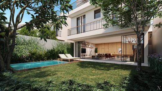 Jardim - Fachada - Casa Jardim - 755 - 7