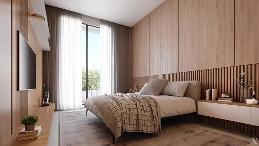 Dormitorio - Fachada - Casa Jardim - 755 - 8