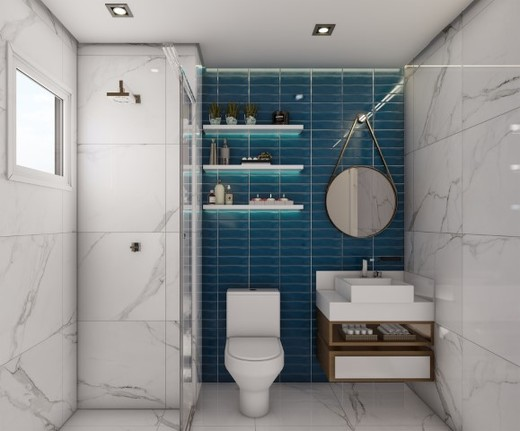 Banheiro - Fachada - Metrocasa Campo Limpo - 759 - 14