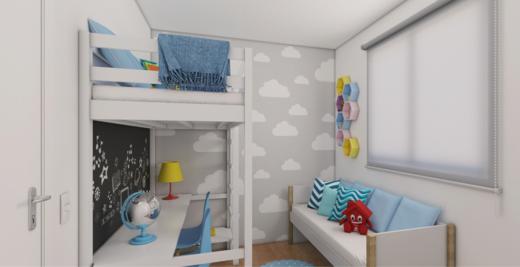 Dormitorio - Fachada - Solar do Oeste I - 327 - 4