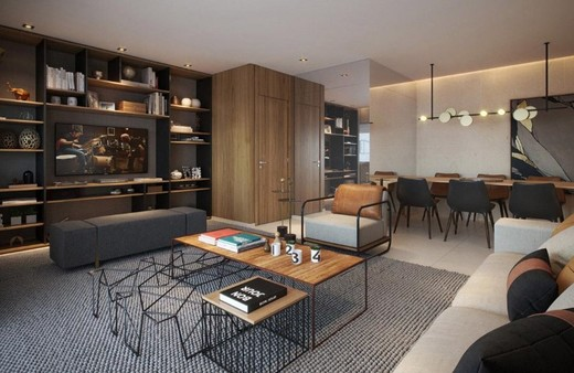 Living - Apartamento 3 quartos à venda Barra da Tijuca, Rio de Janeiro - R$ 1.576.950 - II-12138-21756 - 13