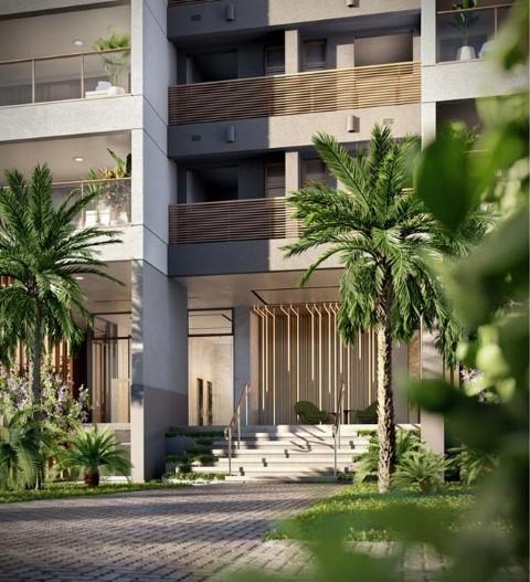Fachada - Apartamento 3 quartos à venda Barra da Tijuca, Rio de Janeiro - R$ 1.576.950 - II-12138-21756 - 1