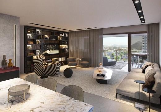 Living - Apartamento 3 quartos à venda Barra da Tijuca, Rio de Janeiro - R$ 1.576.950 - II-12138-21756 - 14
