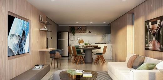Living - Apartamento à venda Rua França Pinto,Vila Mariana, São Paulo - R$ 1.921.903 - II-12233-21880 - 5